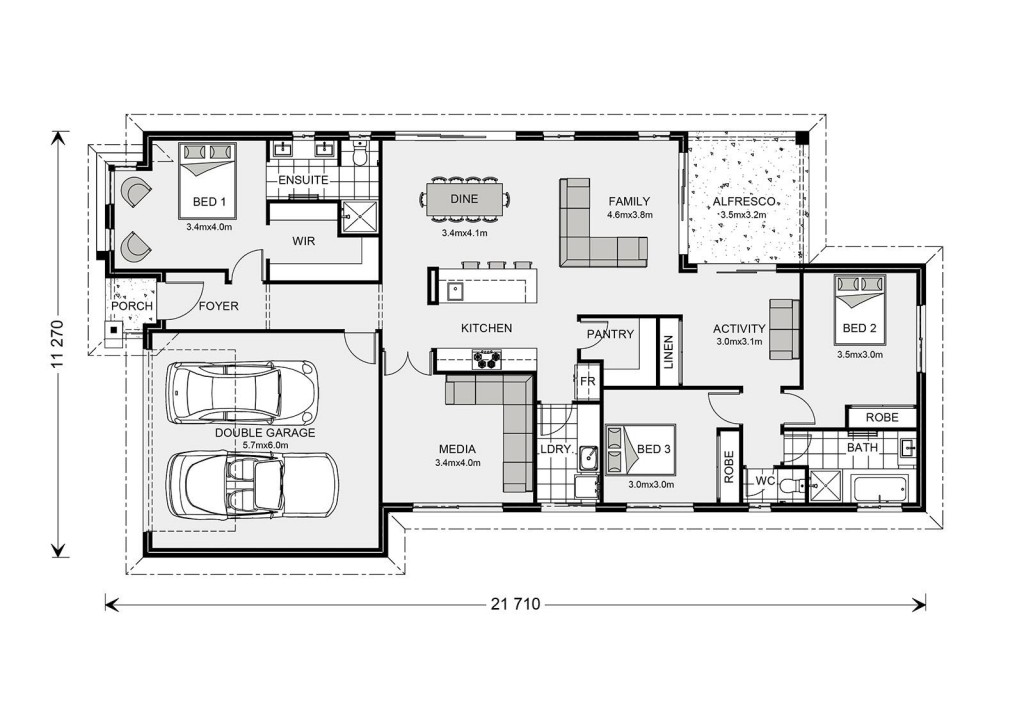 Benowa 210 - Element Series Floorplan