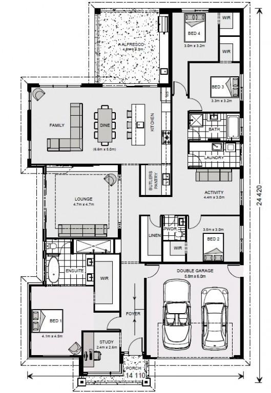Long Bay 301 - Element Series Floorplan