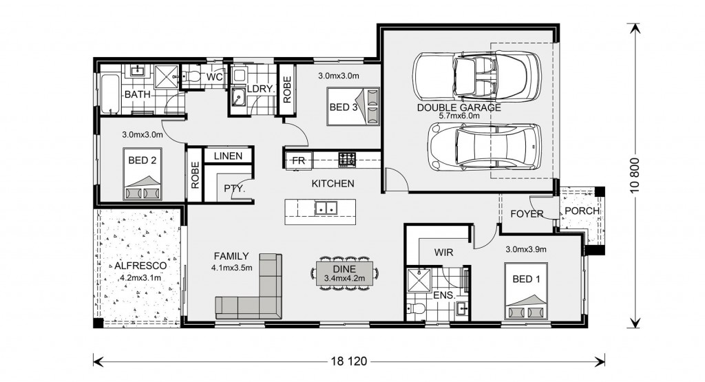 Bridgewater 190 - Express Series Floorplan
