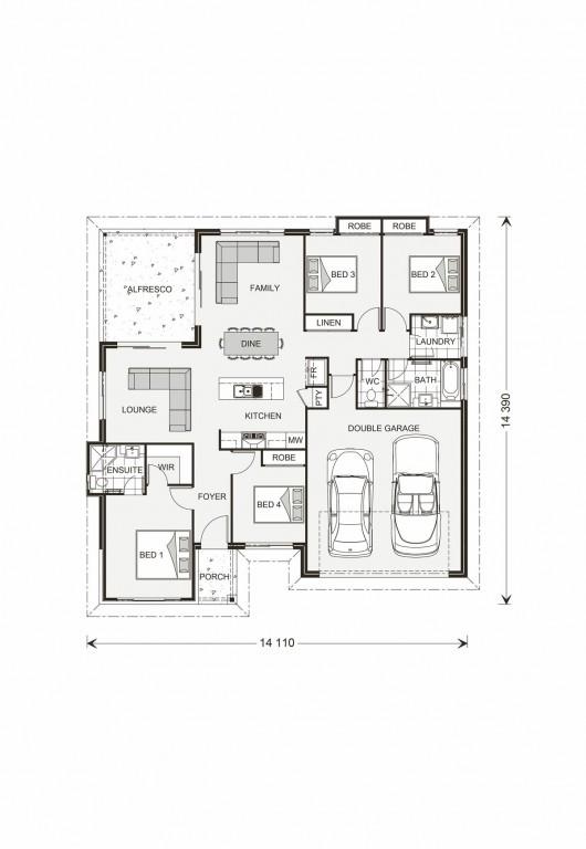 Wide Bay 181 Floorplan