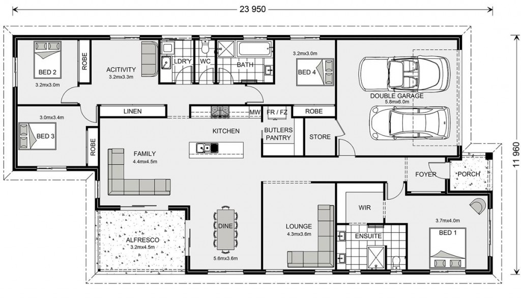 Bridgewater 258 Floorplan