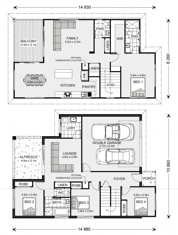 Sorrento Floorplan