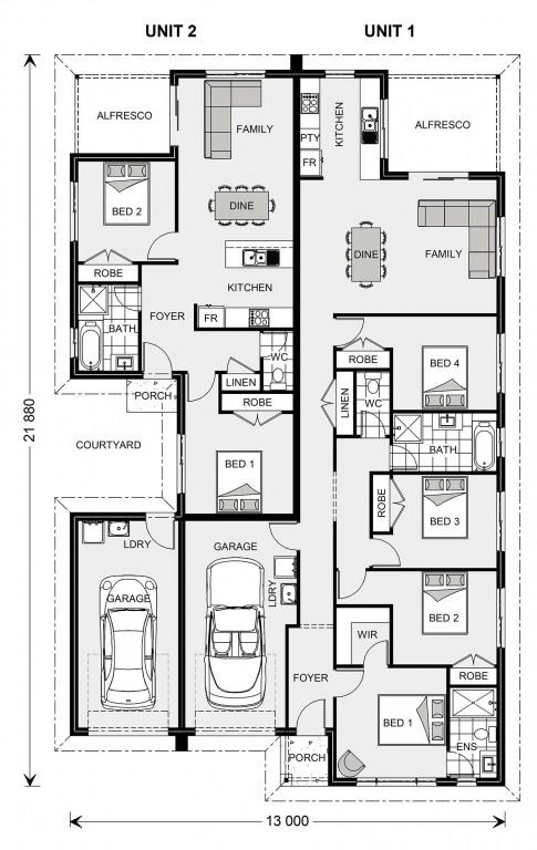 Cleveland 258 - Dual Living Series Floorplan
