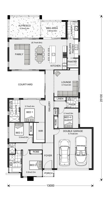 Stillwater 250 - Element Series Floorplan