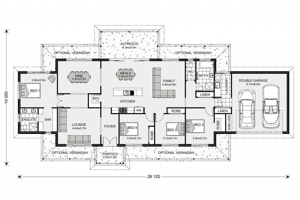 Maryvale 251 Floorplan