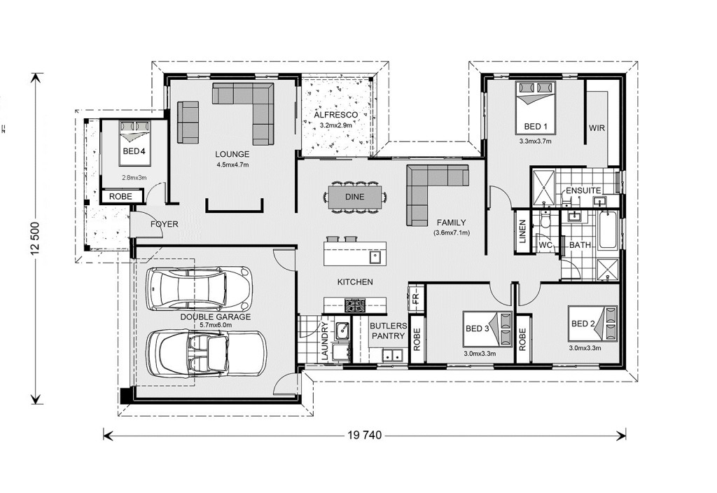 Northside 208 - Element Series Floorplan
