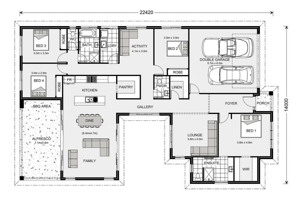 Beachmere 272 - Element Series Floorplan