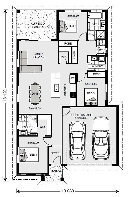 Bridgewater 173 - Element Series Floorplan