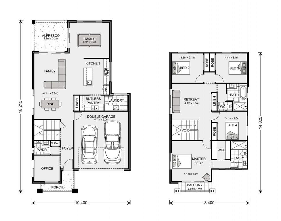 Balmain 270 - Element Series Floorplan