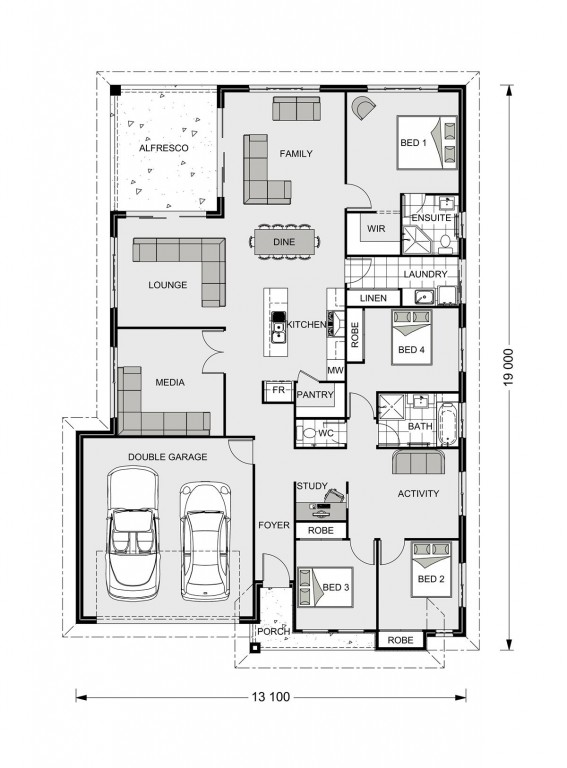 Iluka 230 - Element Series Floorplan