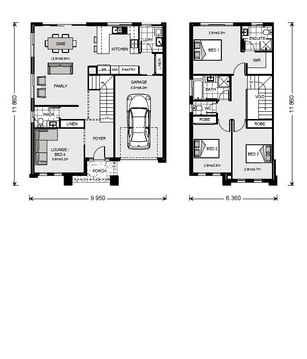 Cranbourne 170 - Express Series Floorplan