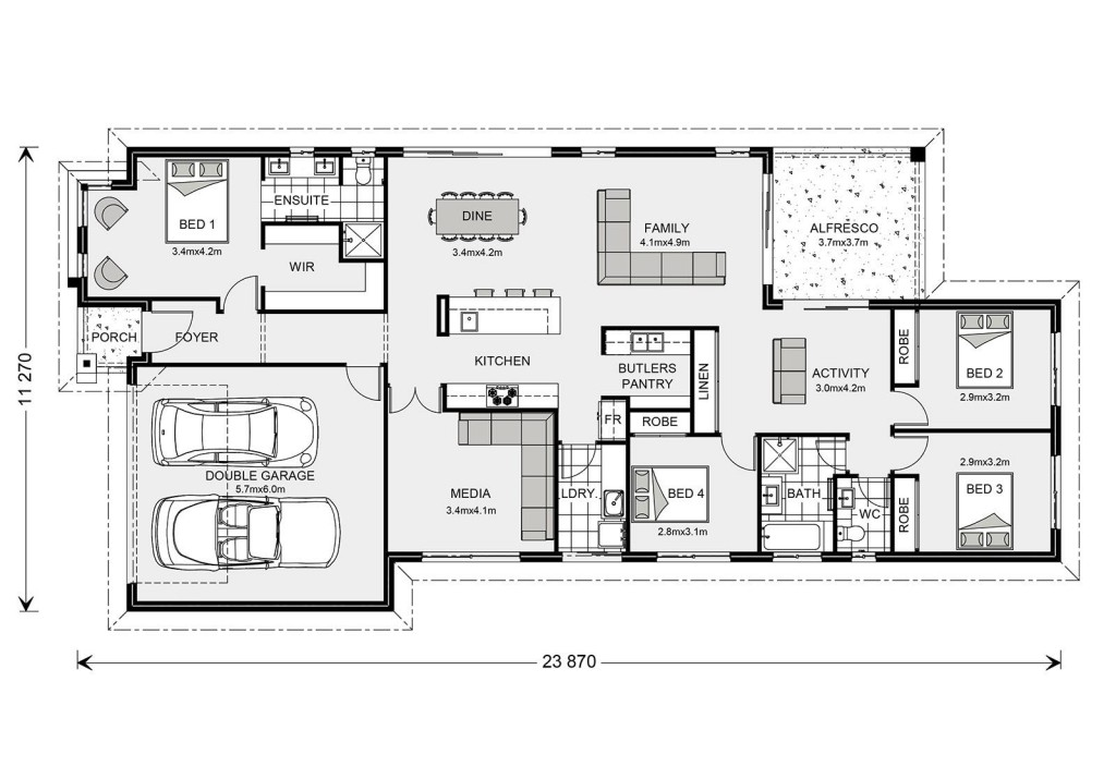 Benowa 230 - Element Series Floorplan