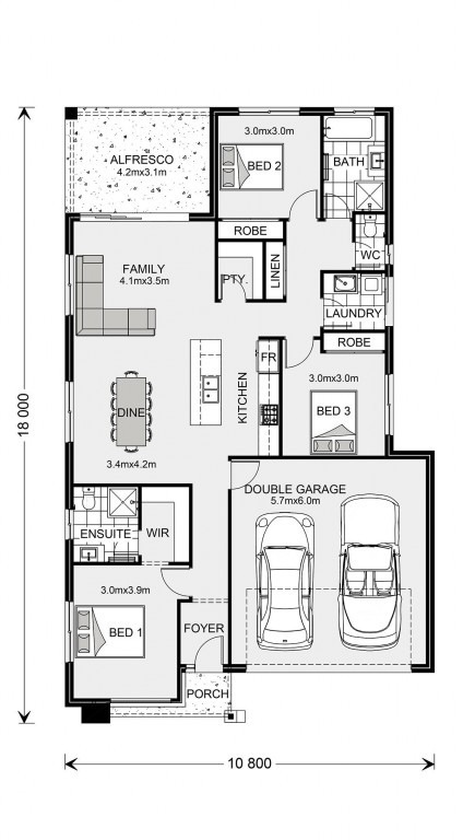 Bridgewater 173 - Element Series Floorplan