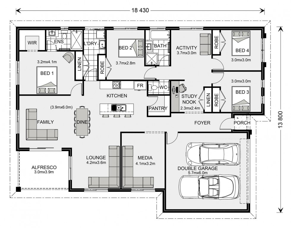 La Trobe 230 - Express Series Floorplan