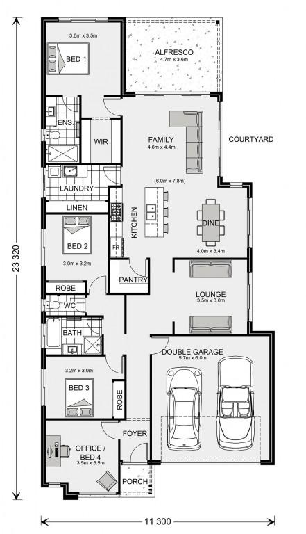 Kimberley 225 - Element Series Floorplan