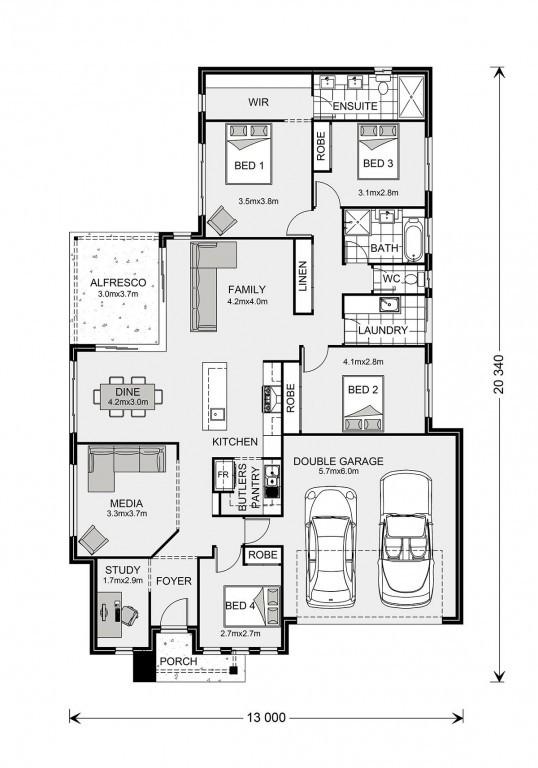 Bedarra 213 - Element Series Floorplan