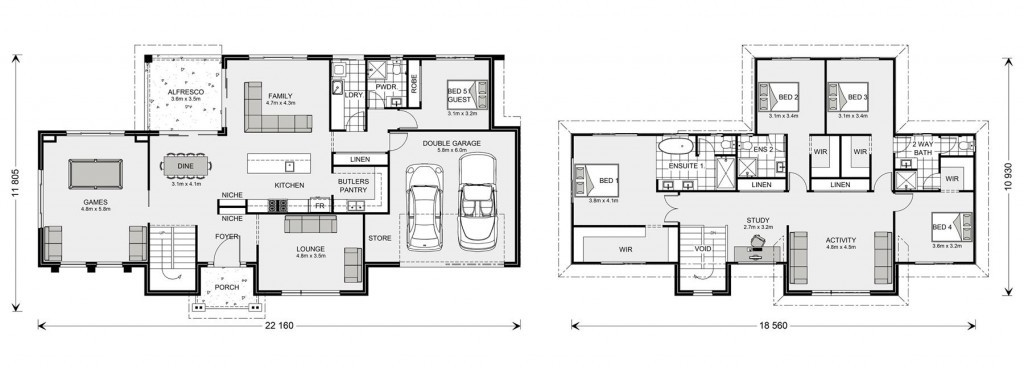 Greenbay 356 - Element Series Floorplan