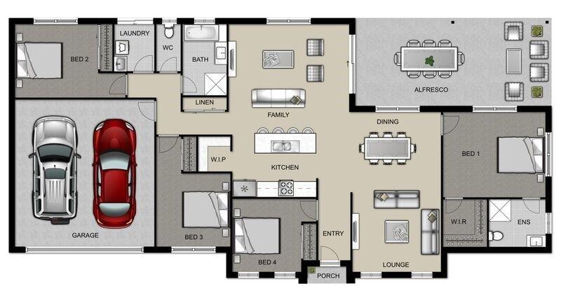 Wishart 206 - Estate Series Floorplan