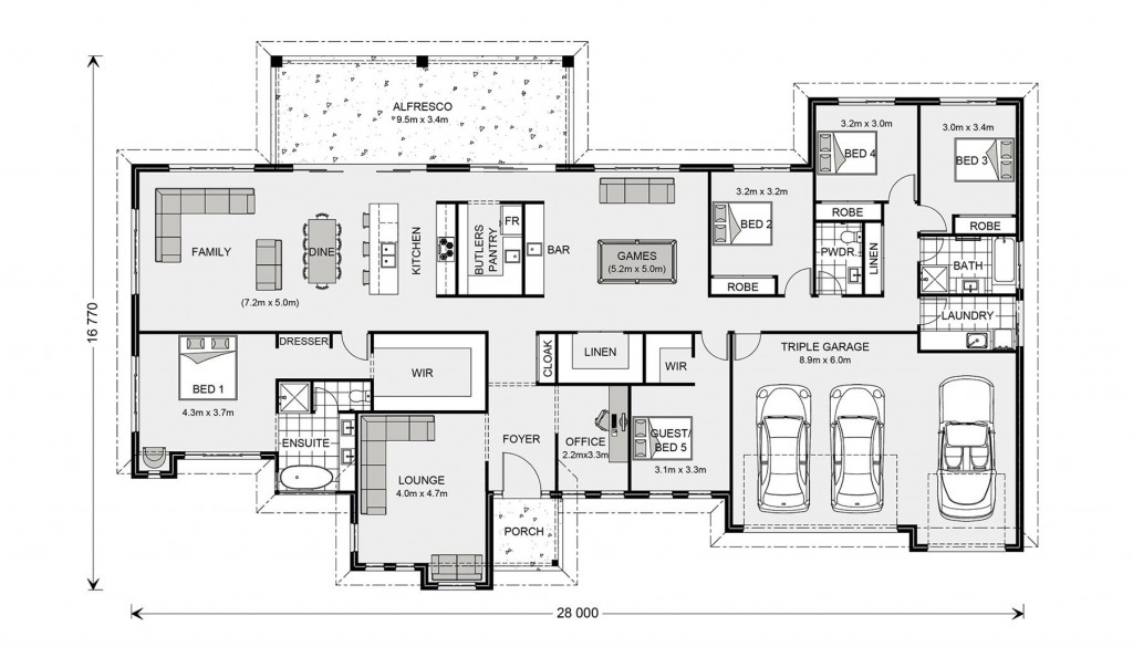 Wentworth 364 - Award Series Floorplan