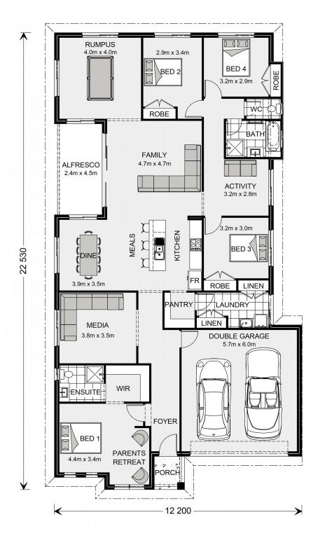 Springbrook 246 Floorplan