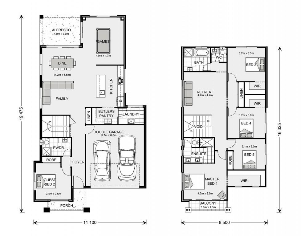 Balmain 300 - Element Series Floorplan
