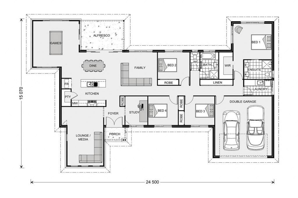 Kingaroy Estate 255 - Estate Series Floorplan