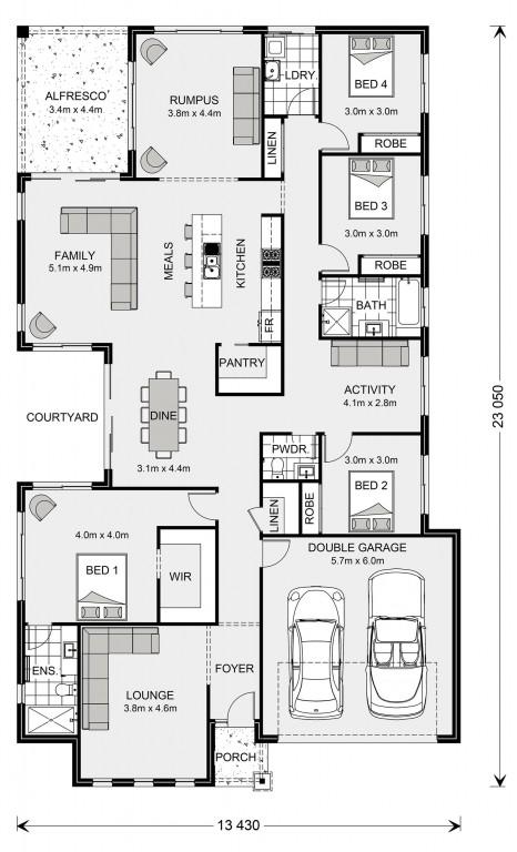 Sunbury 250 - Express Series Floorplan