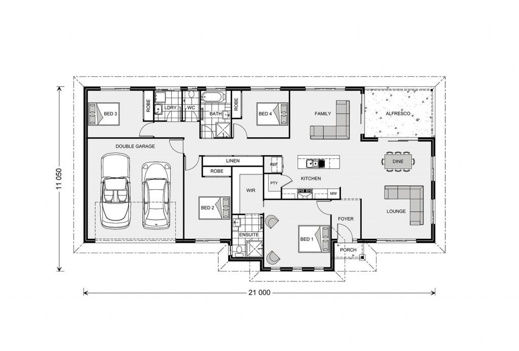 Rothbury 234 Floorplan