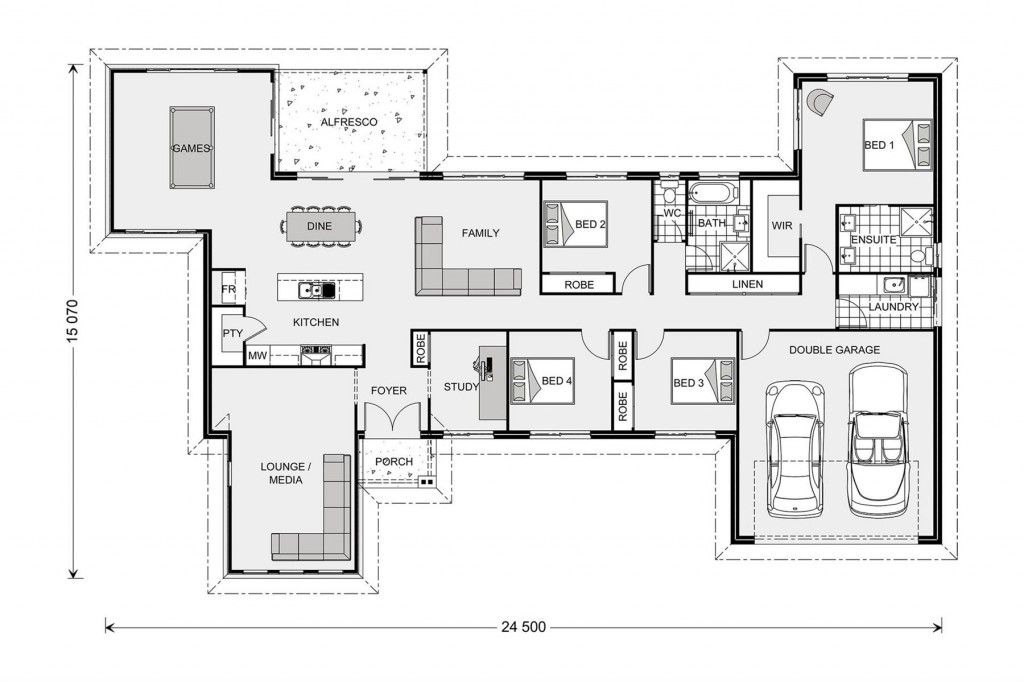 Kingaroy 255 Floorplan