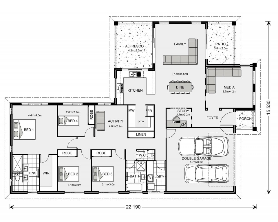 Parkview 257 - Element Series Floorplan