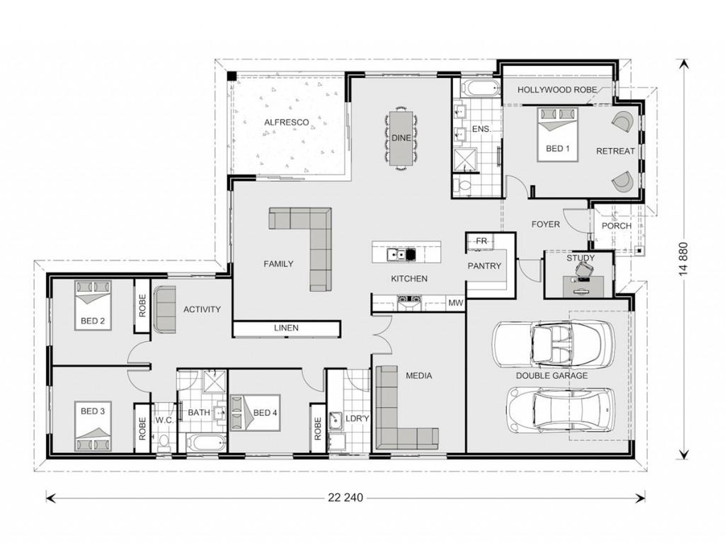 Coolum 268 - Element Series Floorplan