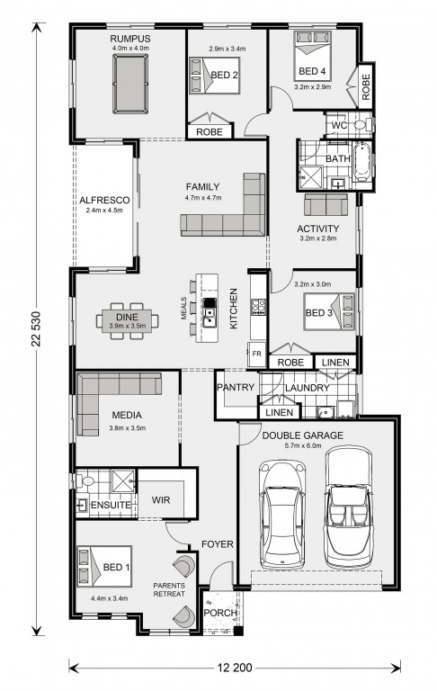 Springbrook 246 Floorplan