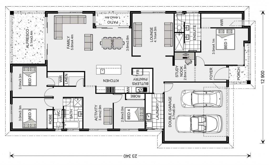 Portside 270 - Element Series Floorplan