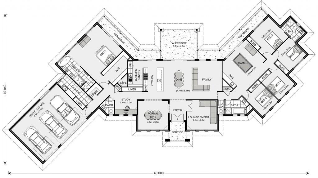 Montville 420 - Prestige Series Floorplan