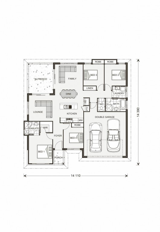 Wide Bay 181 Floorplan