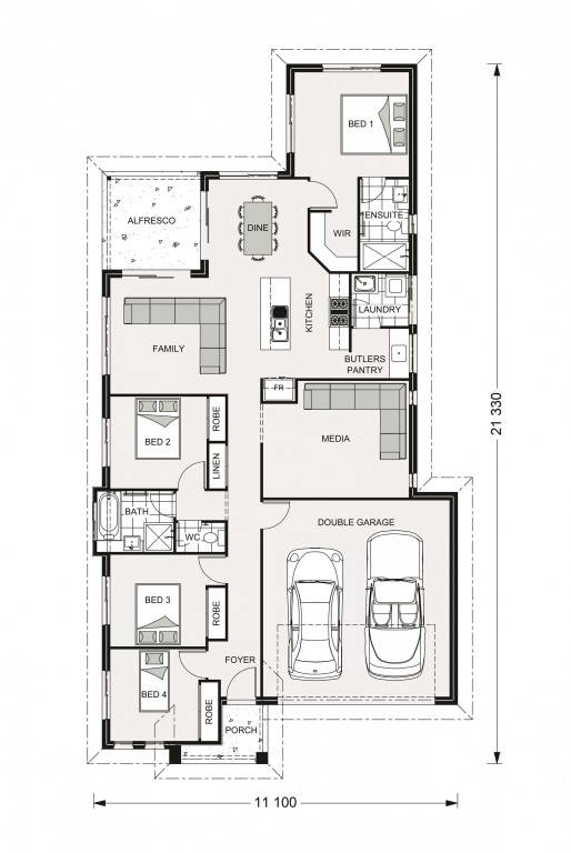Edgewater 186 - Element Series Floorplan