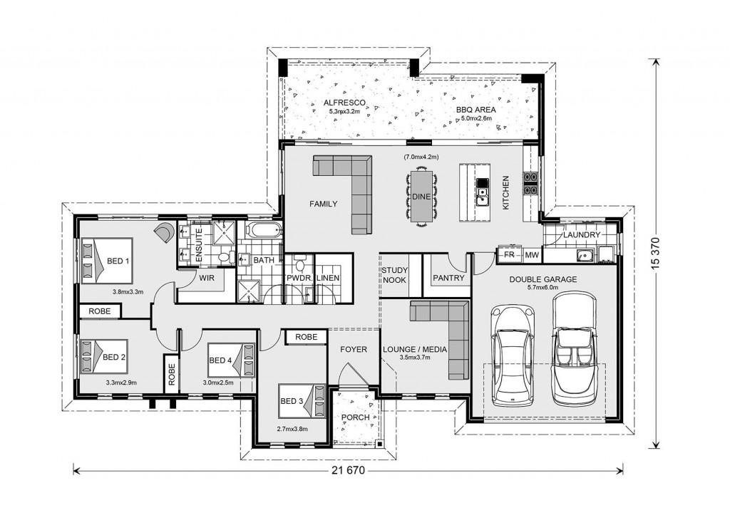 Stillwater 235 - Estate Series Floorplan