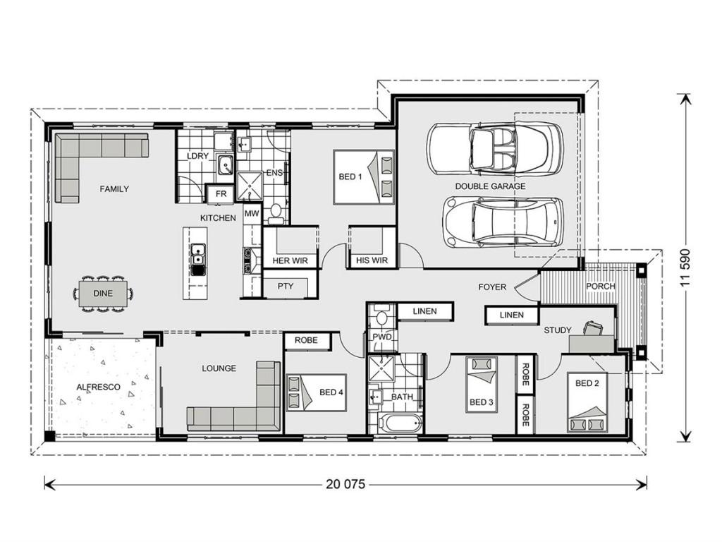 Casuarina 209 - Element Series Floorplan