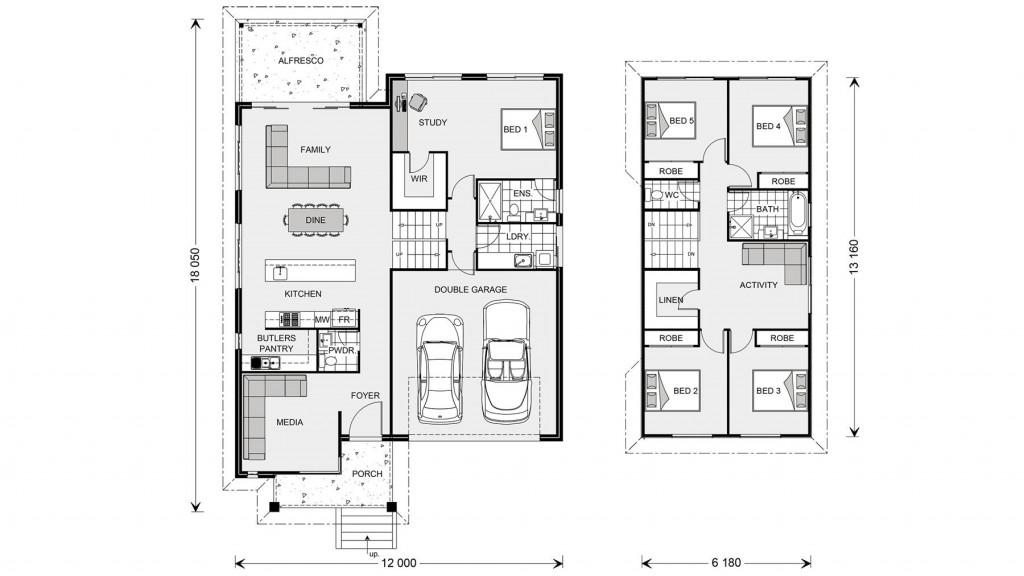 Regatta SL 264 - Split Level Series Floorplan