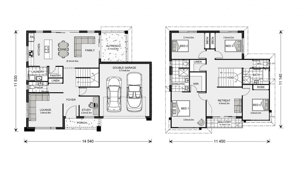 Esplanade 260 - Element Series Floorplan