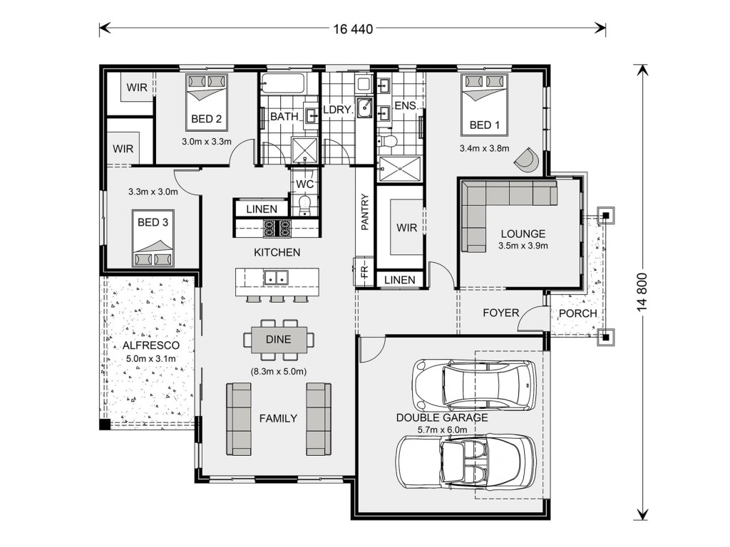 Glenview 210 - Element Series Floorplan