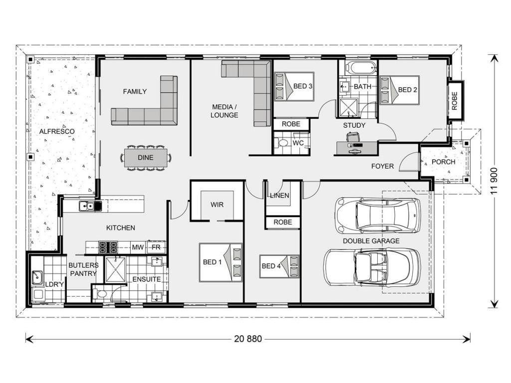 Seacrest 236 - Element Series Floorplan
