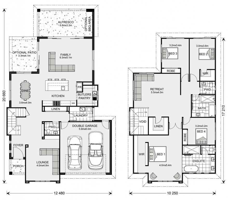 Avalon Bay 342 Floorplan