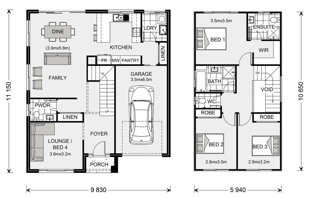 Cranbourne 170 - Express Series Floorplan