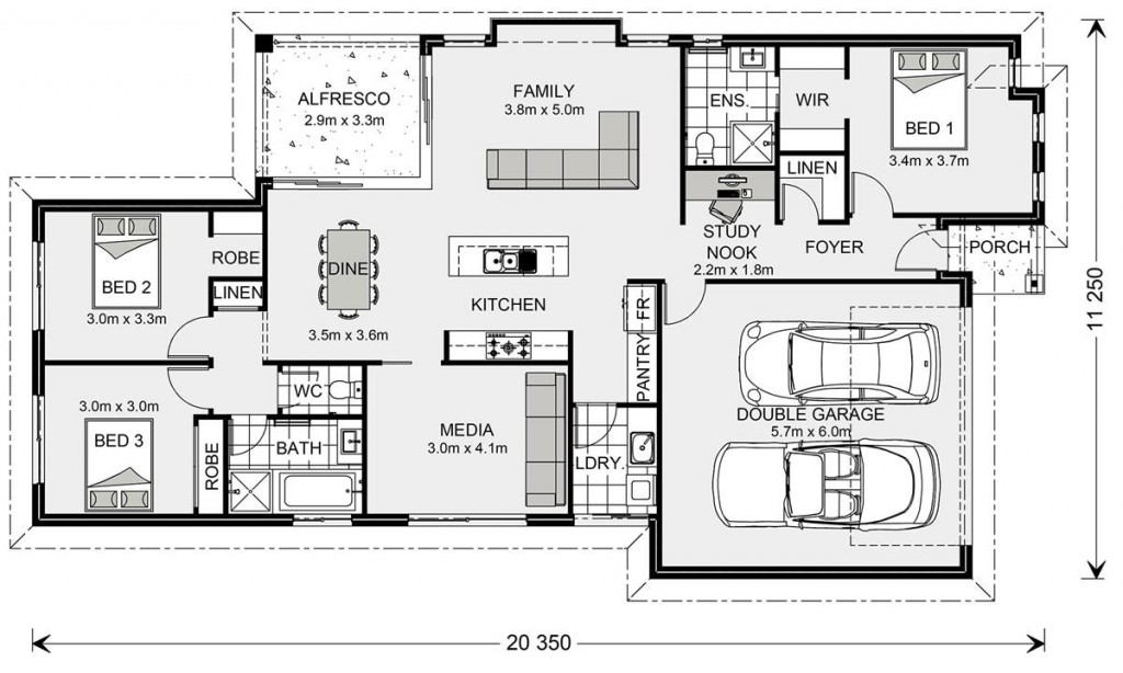 Coolum 187 - Element Series Floorplan