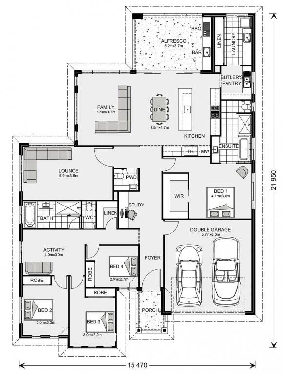 Peninsula 273 - Element Series Floorplan