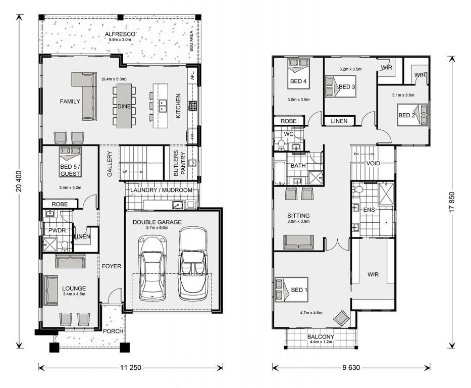 Freshwater 340 Floorplan
