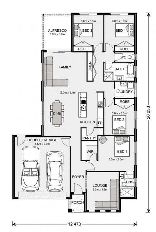 Woodridge 205 Floorplan