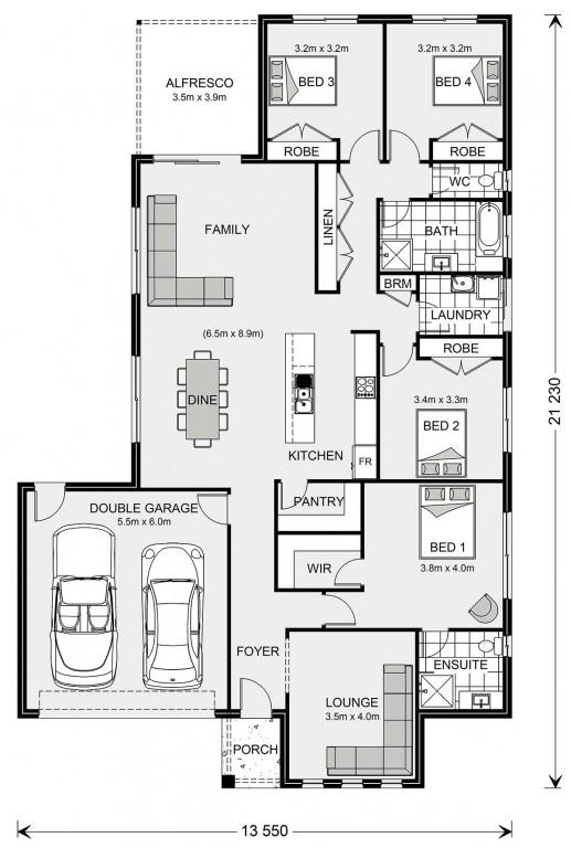 Woodridge 232 - Express Series Floorplan