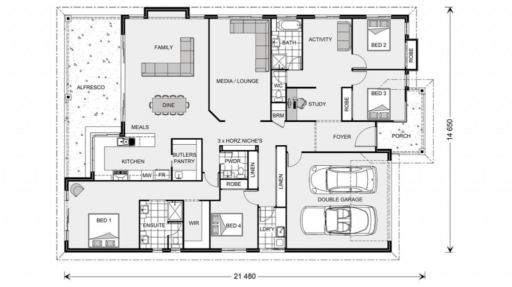 Seacrest 291 - Element Series Floorplan